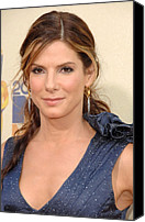 Mtv Canvas Prints - Sandra Bullock At Arrivals For 2009 Mtv Canvas Print by Everett