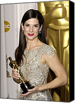 Academy Awards Oscars Canvas Prints - Sandra Bullock, Best Performance By An Canvas Print by Everett