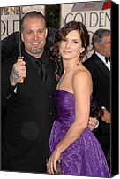 Jesse James Canvas Prints - Sandra Bullock , Jesse James Canvas Print by Everett