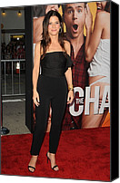 2010s Fashion Canvas Prints - Sandra Bullock Wearing A Lanvin Canvas Print by Everett