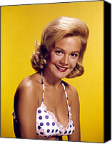 Publicity Shot Canvas Prints - Sandra Dee, C. Early 1960s Canvas Print by Everett