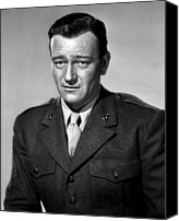 1949 Movies Canvas Prints - Sands Of Iwo Jima, John Wayne, 1949 Canvas Print by Everett