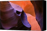 Sandstone  Canvas Prints - Sandstone Apparition Canvas Print by Mike  Dawson