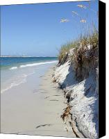 Buffet Canvas Prints - Sandy hill Beach Canvas Print by Jack Norton