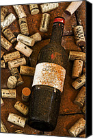 Corks Canvas Prints - Santa Cristina Canvas Print by John Galbo