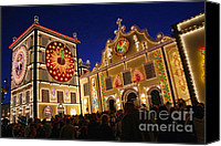 Azoren Canvas Prints - Santo Cristo festivities Canvas Print by Gaspar Avila
