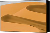 Saudi Canvas Prints - Saudi Sand Dune Canvas Print by Universal Stopping Point Photography
