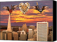 Rock Angels Canvas Prints - Saving All My Love For You Canvas Print by Eric Kempson