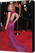 Academy Awards Oscars Canvas Prints - Scarlett Johansson Wearing Dolce & Canvas Print by Everett