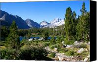 Sierra Canvas Prints - Scenic Mountain View Canvas Print by Chris Brannen