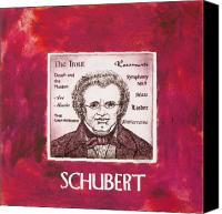 Schubert Canvas Prints - Schubert Canvas Print by Paul Helm