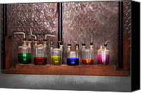 Scientific Canvas Prints - Science - Chemist - Glassware for couples Canvas Print by Mike Savad