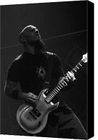 Rock Music Canvas Prints - Scott Ian Anthrax Reunion  Canvas Print by Christopher  Chouinard