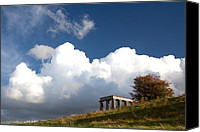 Tree Canvas Prints - Scottish National Monument on Calton Hill Canvas Print by Steven Gray