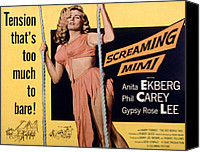 Fid Canvas Prints - Screaming Mimi, Anita Ekberg, 1958 Canvas Print by Everett