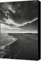 Assateague Canvas Prints - Sea And Sky Canvas Print by Steven Ainsworth