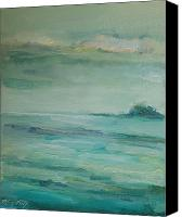 Mary Wolf Canvas Prints - Sea Glass Canvas Print by Mary Wolf