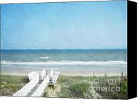 Topsail Canvas Prints - Sea of Dreams Canvas Print by Andrea Hazel Ihlefeld