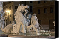 Fontain Canvas Prints - Seahorse Canvas Print by Fabrizio Ruggeri