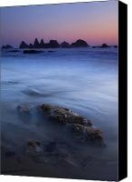 Seal Canvas Prints - Seal Rock Glow Canvas Print by Mike  Dawson