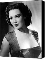 1953 Movies Canvas Prints - Second Chance, Linda Darnell, 1953 Canvas Print by Everett