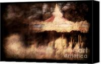 Merry-go-round Canvas Prints - Secrets Canvas Print by Andrew Paranavitana