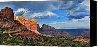 Dan Turner Canvas Prints - Sedona After The Storm Canvas Print by Dan Turner