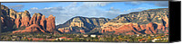 Sedona Canvas Prints - Sedona Arizona Canvas Print by Mike McGlothlen