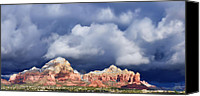 Solstice Canvas Prints - Sedona Solstice Canvas Print by Dan Turner