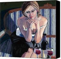 Cakebread Canvas Prints - Seduction Canvas Print by Christopher Mize