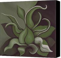 Kelso Canvas Prints - Seed Canvas Print by Bonnie Kelso