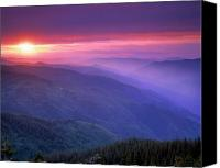 Mountain View Canvas Prints - Selway Sunrise Canvas Print by Leland Howard