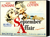 Fid Canvas Prints - September Affair, Joan Fontaine, Joseph Canvas Print by Everett