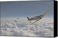 Raf Canvas Prints - September Odds Canvas Print by Pat Speirs