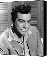 1956 Movies Photo Canvas Prints - Serenade, Mario Lanza, 1956 Canvas Print by Everett