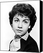 1959 Movies Canvas Prints - Shaggy Dog, Annette Funicello, 1959 Canvas Print by Everett