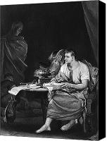Oil Lamp Canvas Prints - Shakespeare: Julius Caesar Canvas Print by Granger