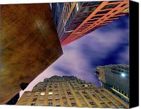 Abstract Building Canvas Prints - Sharp Canvas Print by Mike Lindwasser Photography