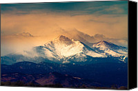 Continental Divide Canvas Prints - Shell Be Coming Around the Mountain Canvas Print by James Bo Insogna