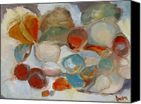 Susan Hanlon Canvas Prints - Shell Impression III Canvas Print by Susan Hanlon