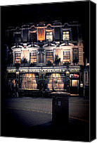 Pub Canvas Prints - Sherlock Holmes pub Canvas Print by Jasna Buncic