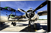 B25 Photographs Canvas Prints - Shiny Canvas Print by Greg Fortier