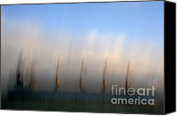 Impression Canvas Prints - Ship At Harbour  Canvas Print by Catherine Lau