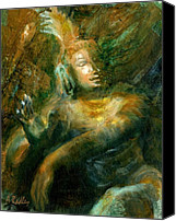 Ann Radley Canvas Prints - Shiva Lord of the Dance Canvas Print by Ann Radley