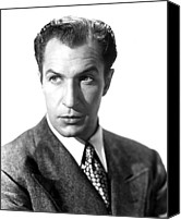 1946 Movies Canvas Prints - Shock, Vincent Price, 1946 Canvas Print by Everett