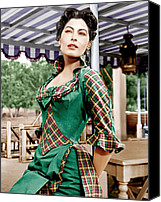 1950s Movies Canvas Prints - Show Boat, Ava Gardner, 1951 Canvas Print by Everett