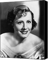 1930s Hairstyles Canvas Prints - Show Boat, Irene Dunne, 1936 Canvas Print by Everett