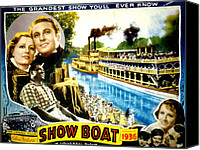 Posth Canvas Prints - Show Boat, Irene Dunne, Allan Jones Canvas Print by Everett