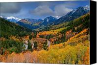 Autumn Photographs Canvas Prints - Show Me The Way Canvas Print by Tim Reaves