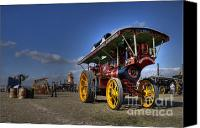 Blandford Canvas Prints - Showmans at the Fair Canvas Print by Rob Hawkins
